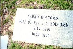 Sarah M Holcomb