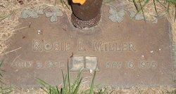 Rosie L Miller