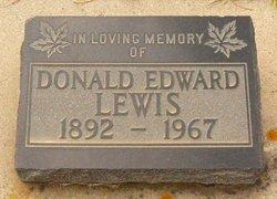 Donald Edward Lewis