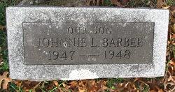 Johnnie L Barbee