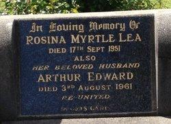 Rosina Myrtle <I>Dobson</I> Lea