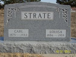 Louisa Augusta Caroline <I>Puls</I> Strate