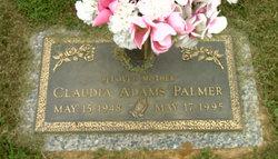 Claudia <I>Adams</I> Palmer