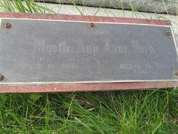 Myrtle Ann  Jane <I>Fox</I> York