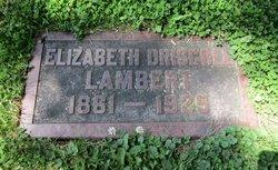 Elizabeth <I>Driscoll</I> Lambert