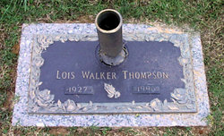 Lois <I>Walker</I> Thompson