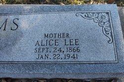 Alice Lee <I>Calhoun</I> Adams