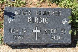 Miles Cameron Kirbie