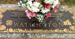 Walter Herb Watlington