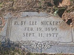 Ruby Lee Nickerson