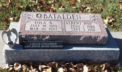 """Albert Roy """"Roy"""" Batalden"""