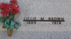 Lillie M Brown