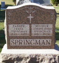 Catherine <I>Romeis</I> Springman