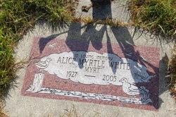 """Alice Myrtle """"Myrt"""" White"""