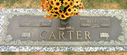 Betty <I>Lancaster</I> Carter