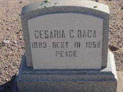 Cesaria <I>Cardone</I> Baca