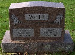 Mary <I>Nikischer</I> Wolf