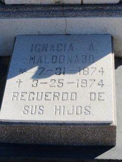 Ignacia A Maldonado