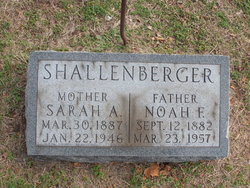 Noah F Shallenberger