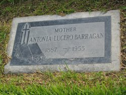 Antonia <I>Lucero</I> Barragan