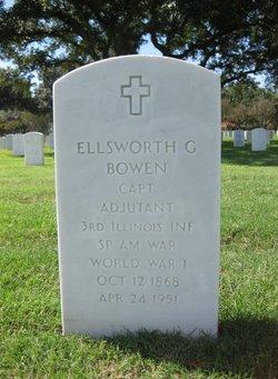 Ellsworth G Bowen