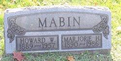 Marjorie H. <I>Cross</I> Mabin