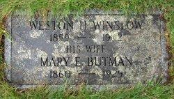 Mary Elizabeth <I>Butman</I> Winslow