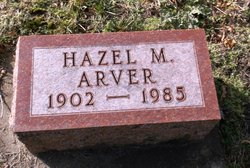Hazel M Arver