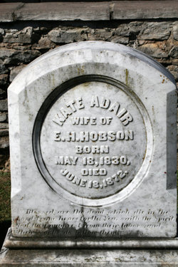 Kate <I>Adair</I> Hobson