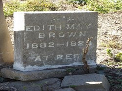 Edith May <I>Wilcox</I> Brown