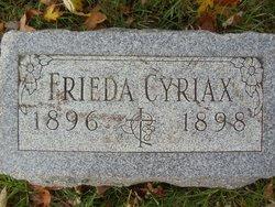 Frieda Cyriax