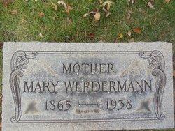 Mary <I>Martch</I> Werdermann