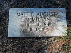 Mattie Augusta McMillan