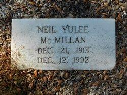 Neil Yulee McMillan