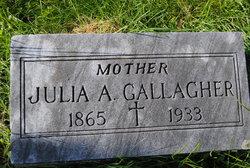 Julia A Gallagher