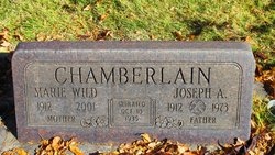 Marie <I>Wild</I> Chamberlain