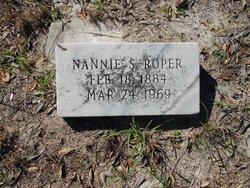 """Nancy """"Nannie"""" <I>Shropshire</I> Roper"""