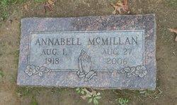 Annabell <I>Sanders</I> McMillan