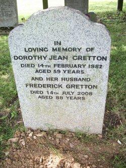 Dorothy Jean Gretton