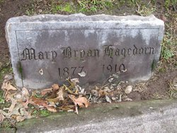 Mary <I>Bryan</I> Hagedorn