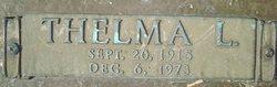 Thelma Lilly <I>Simmons</I> Hendrickson