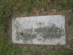 George Emmett Hickey