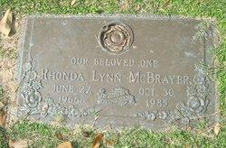 Rhonda Lynn McBrayer