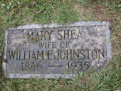 Mary <I>Shea</I> Johnston