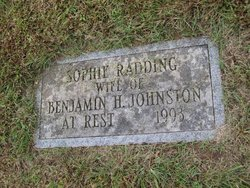 Sophie <I>Radding</I> Johnston
