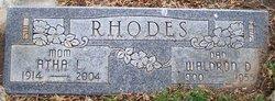 Waldron D Rhodes