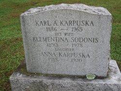 Klementina <I>Sodonis</I> Karpuska