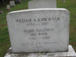 William A Katkaveck