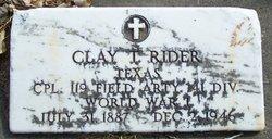 Clay Thomas Rider