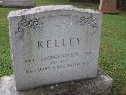 Mary A <I>McCarthy</I> Kelley